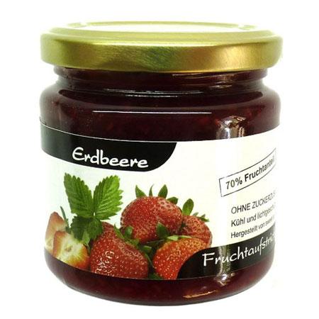 Erdbeermarmelade ohne Zucker